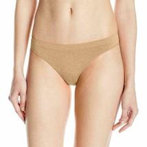 B.tempt'd by Wacoal Women's b. Splendid Thong Panty Au Natural Size Medium image 1