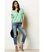 NWT ANTHROPOLOGIE SHIMMERED SWING SWEATER by PAUL & JOE SISTER M - $90.24