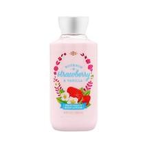 Bath & Body Works Lotion Bourbon Strawberry & Vanilla - $9.27