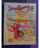 1979 SEARS ROEBUCK AND CO FALL 1909 CONSUMERS GUIDE Paperback Book - $9.90