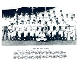 1957 New York Giants Ny 8X10 Team Photo Baseball Picture Mlb - $3.95