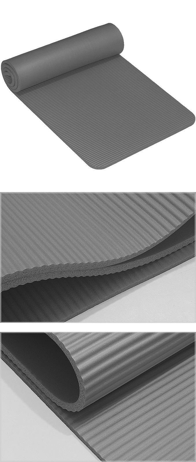 Yoga Mat, 10mm non-slip