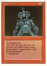 Magic: The Gathering 3rd Edition - Uthden Troll - $0.25