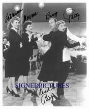 THE ANDREWS SISTERS BING CROSBY SIGNED AUTOGRAPH 8X10 RP PHOTO PATTY  - $16.50