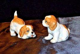 HOMCO Playful Puppy Figurines 1407 AA18 - 1167  Vintage set of 5 image 3
