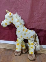 "Vintage Russ Berrie 12"" Giraffe Geraldine Plush Soft Classic Zoo Animal ... - $5.94"