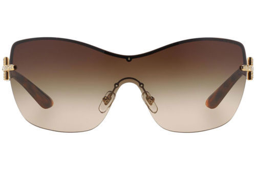 3f72bf81be00 ... Authentic Versace Sunglasses VE2156B 1355 13 Gold Frames Brown Lens  38MM ...