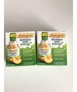 2 (2 Pack) Emergen C Energy Nutrient Shot Energy Peach Mango Immune BB 1... - $12.99