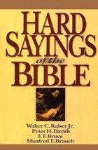 Hard Sayings of the Bible (Hard Sayings Series the Hard Sayings) [Hardco... - $29.99