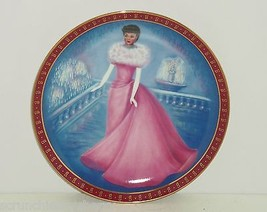 Barbie Enchanted Evening High Fashion Collectors Plate 1960 Vintage Danb... - $59.95