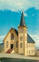 Chrome Postcard NV AH C393 St Pauls Episcopal Church Virginia City Stree... - $8.00