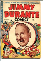 JIMMY DURANTE #1 1948-ME-1ST ISSUE-DICK AYERS ART-WACKY STORIES-good minus - $86.91