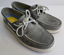 Sperry Top-Sider Cup Grey Leather Boat Shoes - Mens Size US 8.5 M Model ... - $49.99