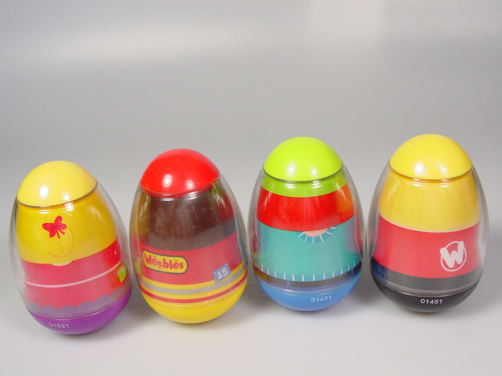 Weebles toy soccer player boy plastic egg pretend play toddler gift