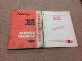 1977 Chevy Light Duty Truck Service Shop Repair Manual Set W Light Duty ... - $29.65
