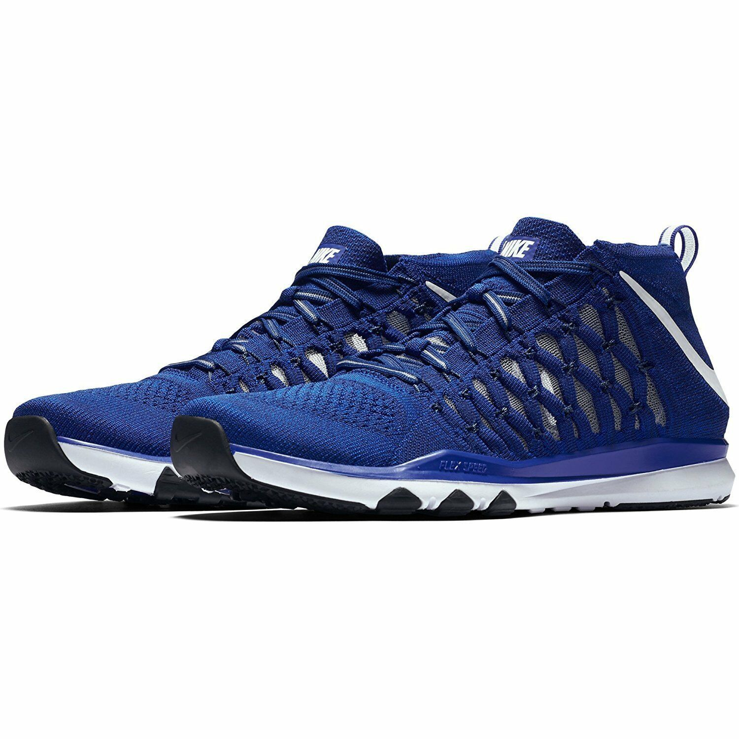 Men's Nike Train Ultrafast Flyknit Training Shoes, 843694 401 Multip Sizes Blue