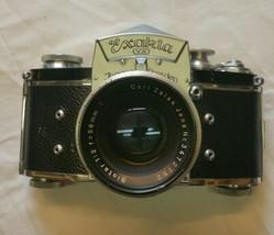 Exakta VX Ihagee Dresden Vintage Germany with 58 mm Carl Zeiss Lens Camera - $1,199.99