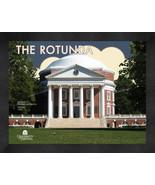 "University of Virginia ""The Rotunda"" 13 x 16 Art Deco Framed Print  - $39.95"