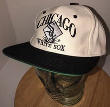 Vintage Chicago White Sox 80s Eds West Signature Six Panel Hat Cap Snapback Rare - $51.65