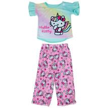 Hello Kitty Unicorn All Over Print 2-Piece Pajama Set Multi - $24.98