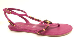 New COLE HAAN Size 7.5 Pink 'Larissa' Ankle Strap Sandals Shoes - $44.10