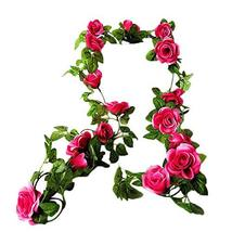 Panda Legends [Rose red Rose] Artificial Flower Vines Fake Flowers Decor... - $13.44
