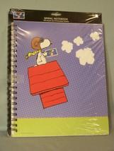 2001 Peanuts Spiral Notebook - Hallmark - USPS - w/Snoopy Stamp on Envelope - $7.70