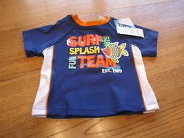 The Children's Place boys Rash guard swim shirt 0-3 MO baby months - $4.50