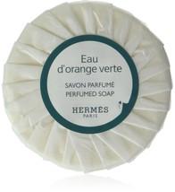 Hermes eau d'Orange Verte Pleated 50 gram soaps - Set of 12 - $44.99