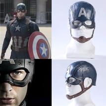 Captain America 3 Civil War Steve Rogers Cosplay Mask Halloween Party Prop - $24.99