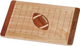 Picnic Plus Gridiron Football field Serving & Cutting Board - $40.98