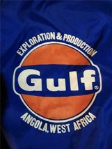 Vintage Gulf Oil Angola Jacket Windbreaker - $199.97