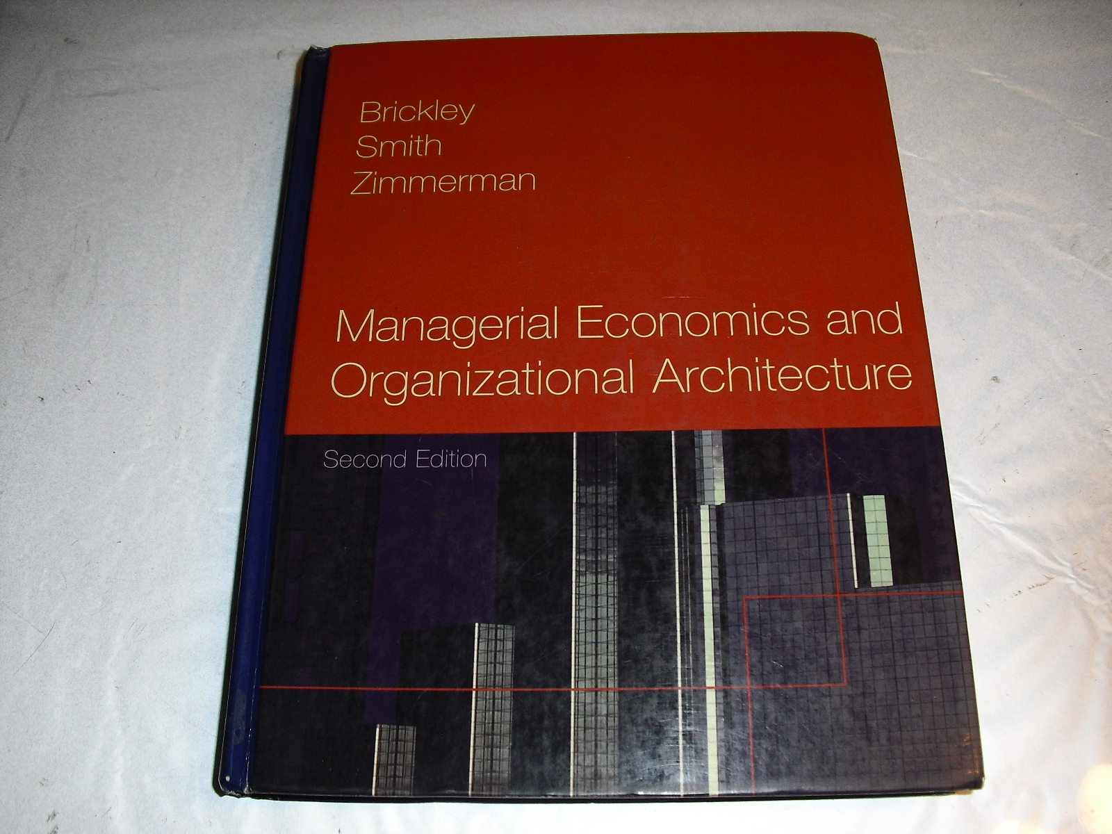 managerial  economics  and  organizational  architecture    2 nd  edition