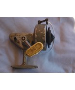 Vintage Soviet Russian Metal Gear Non Inertial Fishing Coil Reel - $17.82