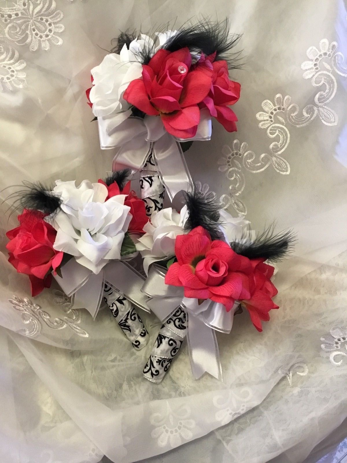 Make Offer 10pc Wedding Flowers Silk Bridal And 11 Similar Items