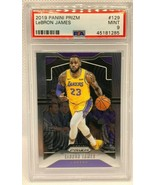 2019-20 Lebron James 1st Lakers Uniform Prizm #129 PSA 9 - $164.99