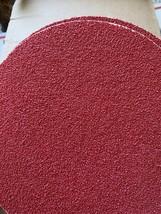 """Norton Red Heat 40 grit sandpaper 7"""" diameter nongrip pack of 25 - $23.76"""