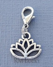 Dangle Celtic Knot Clip On Charm lobster claw Fits Link Chain, locket C225 - $2.96