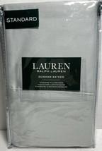 Silver Ralph Lauren Dunham Sateen 300TC 100% Cotton Standard Pillowcases - $29.02