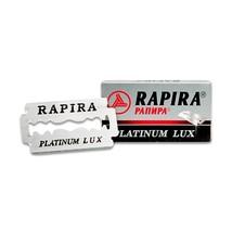 Rapira Platinum Lux Double Edge Blades (5 Blades Pack) - $5.50