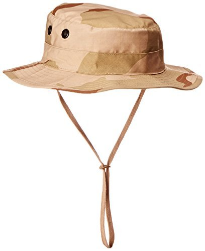 Rothco Rip Stop Boonie Hat, Tri Color Desert, 7.25