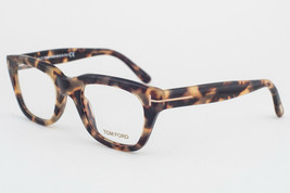 Tom Ford 5178 55 Light Tortoise Eyeglasses TF5178 055 50mm - $391.02