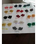 Macrame Boho Earrings Macrame Earrings. Macrame Hoop earrings Tassel ear... - $10.00