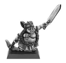 Spellcrow 28mm Fantasy Miniatures: Female Gnome with Sword and Crossbow