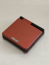 Game Boy Advance SP Body Bokura no Taiyo Jango Red & Black Color NINTENDO - $116.01
