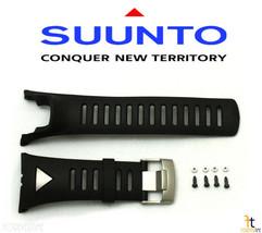 Suunto Ambit Original Black Silver Strap Rubber Watch Band Kit - $65.79