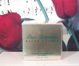 Ralph Lauren Pure Turquoise EDP Spray 2.5 FL. OZ. - $219.99