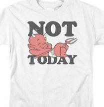 """Hot Stuff Little Devil t-shirt """"Not Today"""" retro comic book graphic tee DRM345 image 3"""