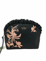 Kate Spade New York Small Marcy Dawn Place Ruffle Embroidered Cosmetic Case - $49.49