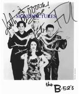 THE B-52's SIGNED AUTOGRAPHED 8X10 RP PROMO PHOTO ROCK LOBSTER B52s - $16.99
